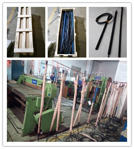 Ruthenium iridium MMO  titanium anode tube for cathodic protection