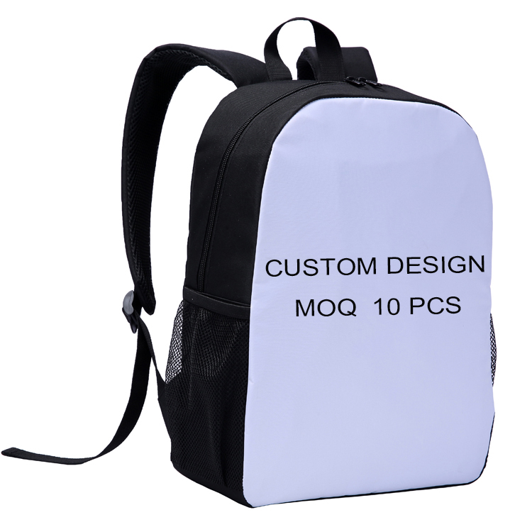 "Fast Custom Design 15"" 3D Digital Printing Teenage School Bags Backpack"