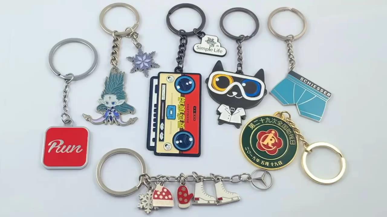 China Fabrikant goedkope custom reliëf antieke sleutelhanger