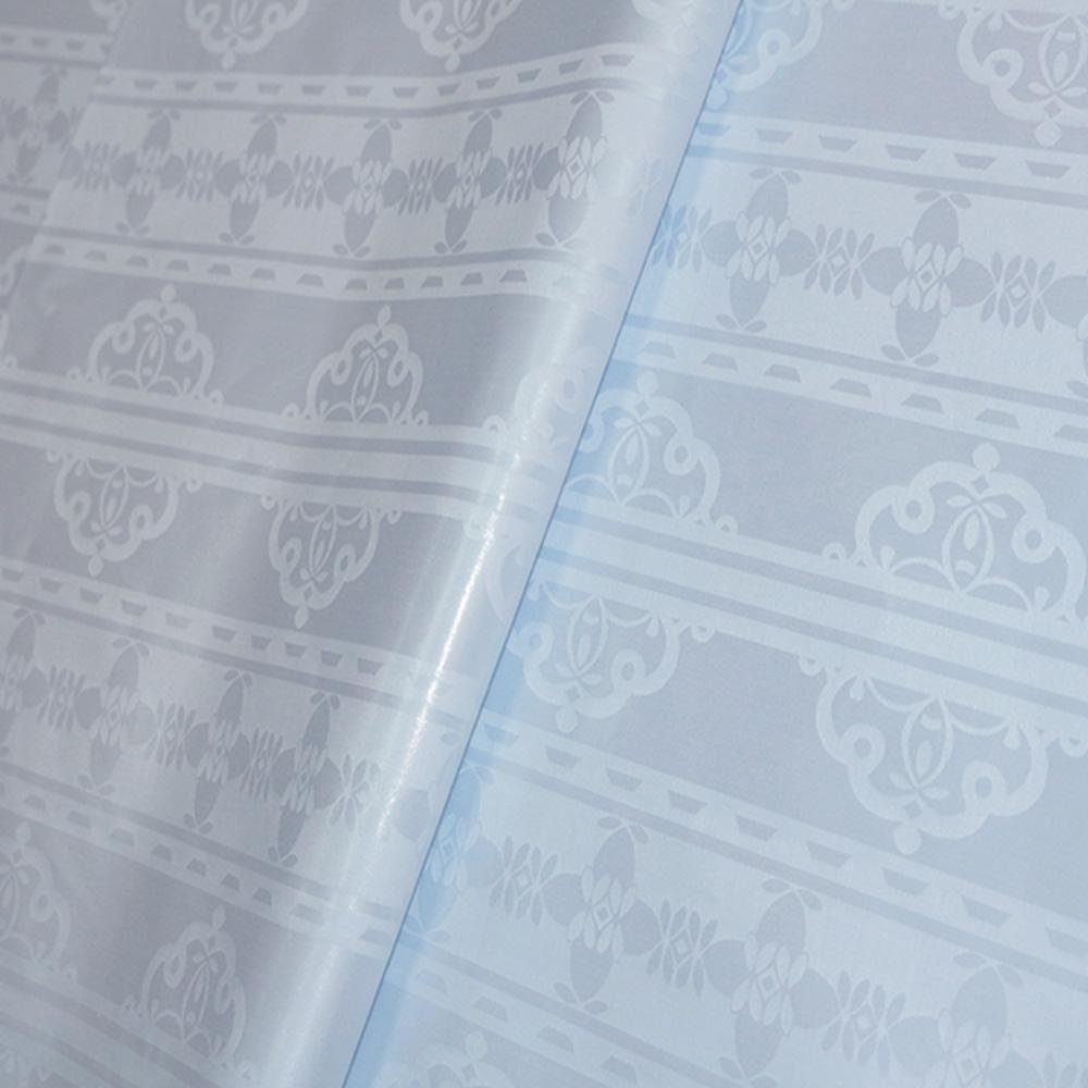 White Shadda Fabric African Garment Textile Mauritania Damask Super Bazin Riche Similar to Getsner