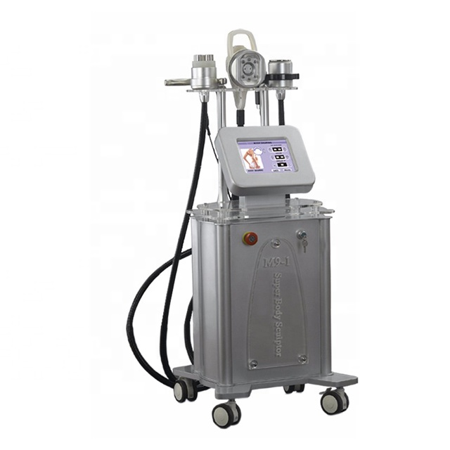 5 IN 1 CE Approval Vacuum Cavitation Tripolar RF Real Velashape Slimming Machine