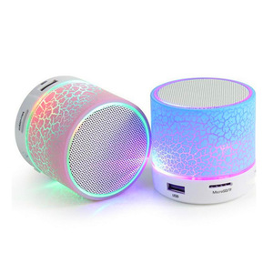 LED Portable Mini Wireless Speaker Support USB Radio FM MP3 Music Player Sound Column For Mobile Phones