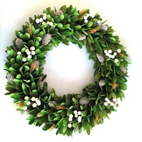 50cm Hanging new style christmas decorative wreaths for front door