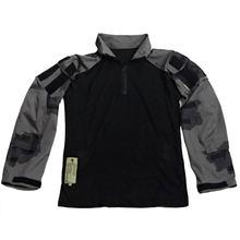 Черный порох/BG T-block наружная тактическая рубашка боевая одежда-(только Топ) XXL(Китай)