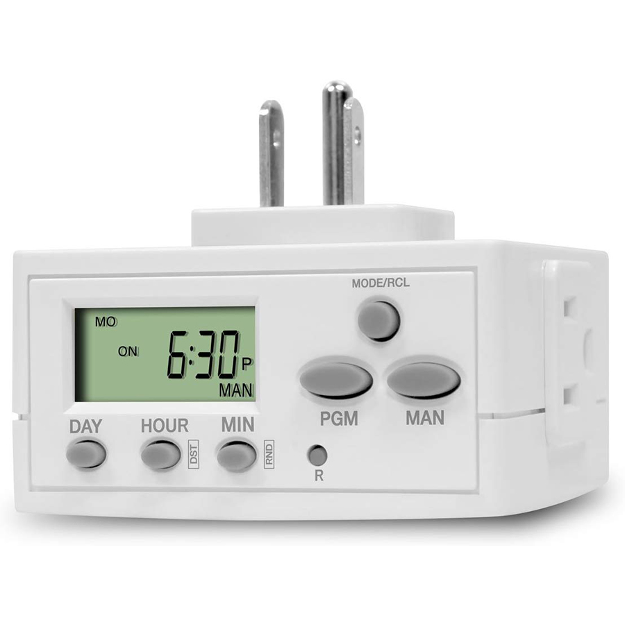 16A 220V Relay LCD Digital Weekly Programmable Plug In Timer Switch Socket/Timer Plug Socket