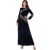Zakiyyah 9133 Middle East Islamic Cloth Embroidery Women Abaya Velvet Fabric Best Selling Products In Dubai