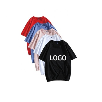 Men and Woman t-shirt Dress Oversized Custom Your Brand Hip Hop Style For Men Plain T Shirt