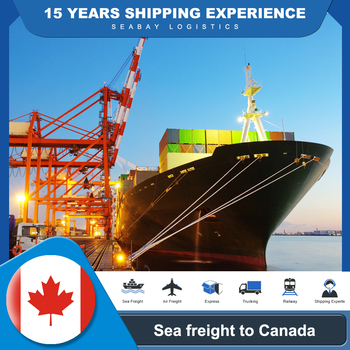 Ship Container Shipping Agent Best Selling Products 2020 In Canada Amazon China Forwarding Sea Freight