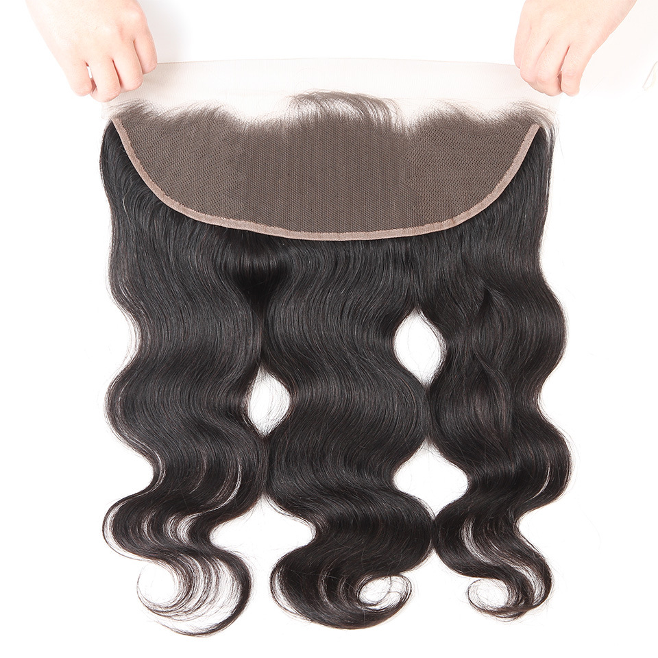 Lsy Factory Vendor Cheap Lace Frontal And Closure Ear to Ear <strong>Body</strong> <strong>Wave</strong> <strong>Human</strong> <strong>Hair</strong>, 13*4 Frontal Virgin <strong>Hair</strong> Lace Closure