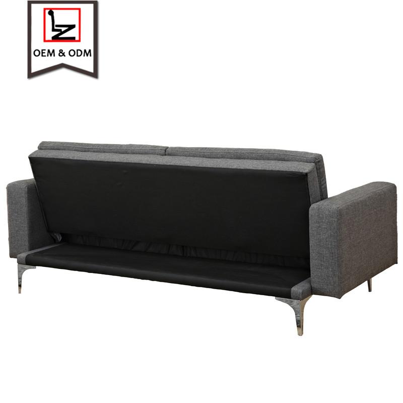 Precio de fábrica color plegable salón tejido sofá cama