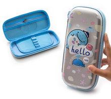 2020 Новый кавайный чехол для карандаша высокой емкости EVA пенал 3D Милые водонепроницаемые пенал детский подарок Канцтовары Школьные принадл...(Китай)
