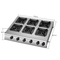 Kitchen Gas Production Commercial Gas Stove Gas Cooker