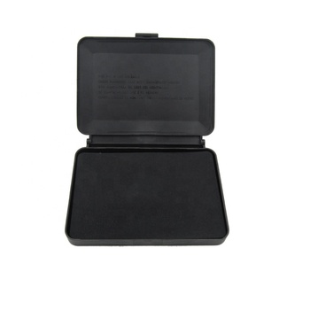 Professional office used jet black Atomic stamp pad for fingerprint make and stamp