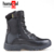 Full grain leather adventure hiking men police military combat jungle boots in stock