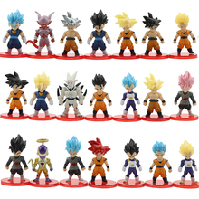 21 Stks/set Hot Koop Pvc Collectible <span class=keywords><strong>Dragon</strong></span> <span class=keywords><strong>Ball</strong></span> Anime Action Figure