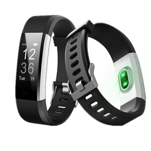ID115HR Plus Real Time Heart Rate Smart Gelang Sport Kebugaran SMART Kontrol Watch Tracker Monitor GPS <span class=keywords><strong>Track</strong></span>