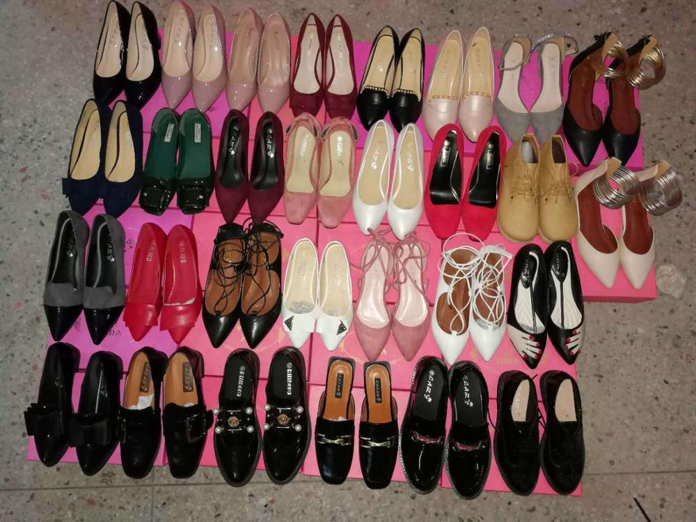 GZY wholesale big number of ladies shoes sandals