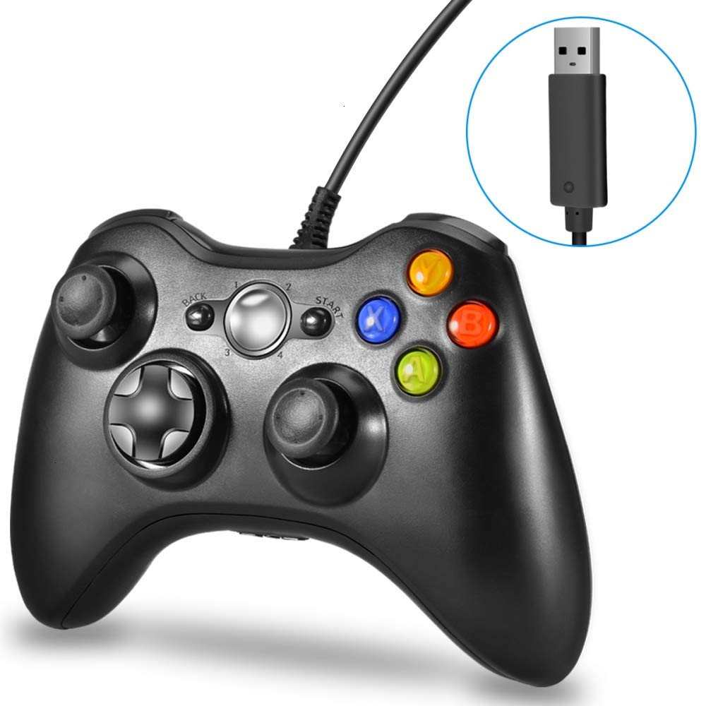 Gamepad for Microsoft <strong>Xbox</strong> <strong>360</strong> <strong>Controller</strong> Wired Joystick Joy Pad USB Game Pad <strong>Controller</strong> For <strong>Xbox</strong> <strong>360</strong> console and PC