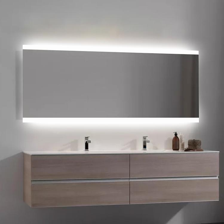 New Design Rectangle Anti-fog Bathroom Mirror Led Light Mirror for Hotel Bathroom