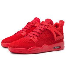 2020 новый бренд Air Jordans 4 Баскетбольная обувь Трэвиса Скотта кактуса Джек Черный кот чистый Мужчины годовщина кроссовки(Китай)