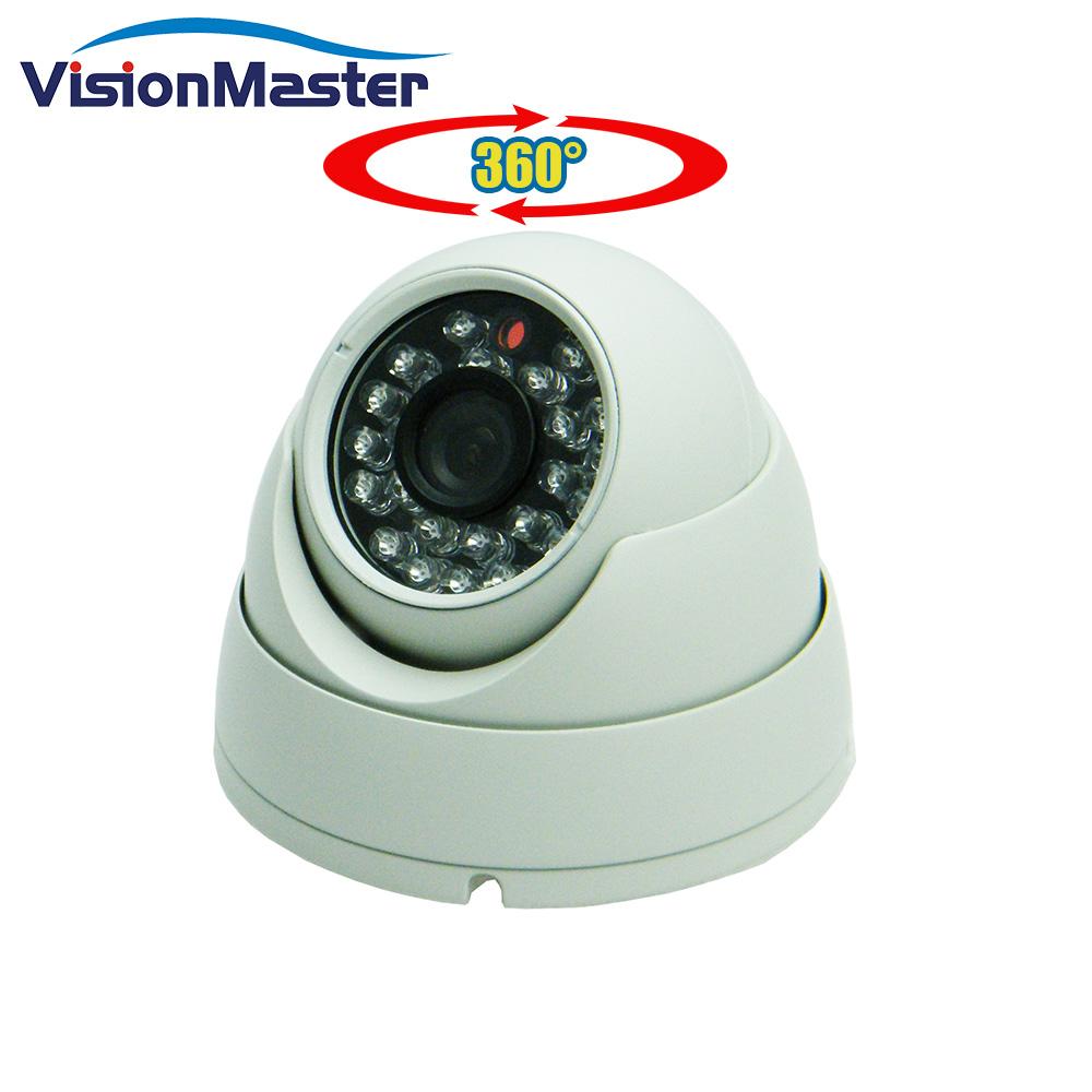 360 Derajat CCTV Nirkabel Kamera Sony CMOS Sensor 1080P Ip Kamera Malam Versi untuk Kendaraan