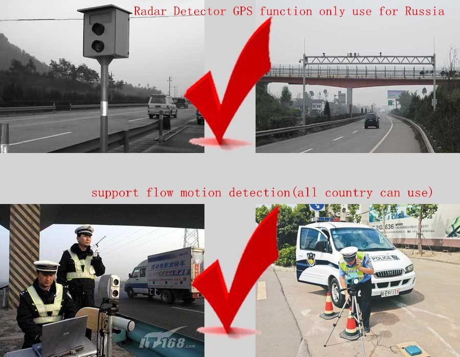 360 Derajat Mobil Anti-Polisi Kecepatan Keselamatan Radar Detector Peringatan Suara Detectores De Radar Mobil dengan Deteksi Gps Perangkat