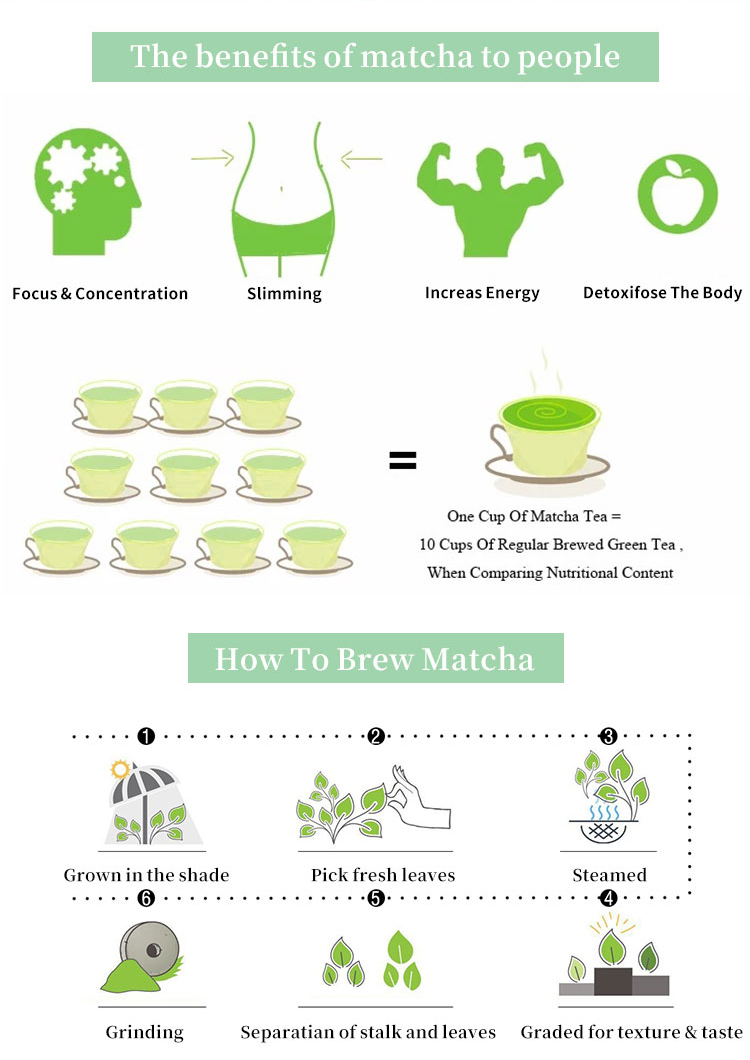 Wholesale Usda Japan Ceremonial Grade Green Tea Latte Everyday Organic Matcha Powder - 4uTea | 4uTea.com