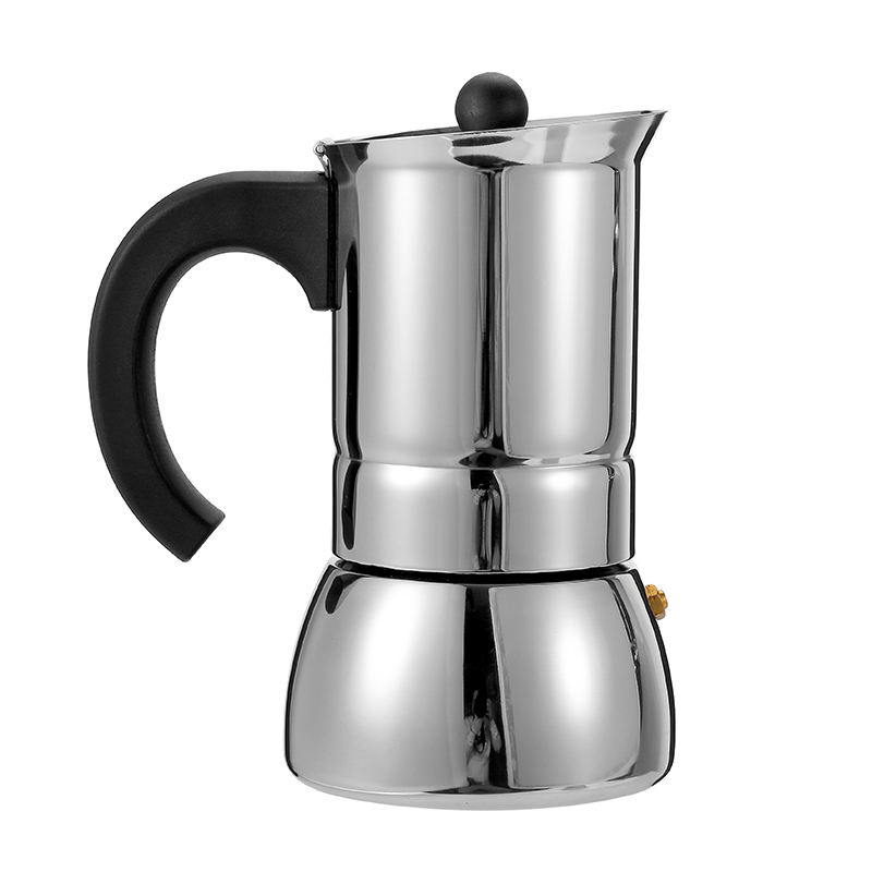 Everich Wholesale Oem Various Styles Coloful Electric Heating Espresso Stainless Steel Moka Pot