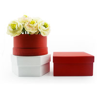 Wholesale cardboard popular best selling flower set box gift paper flower box luxury