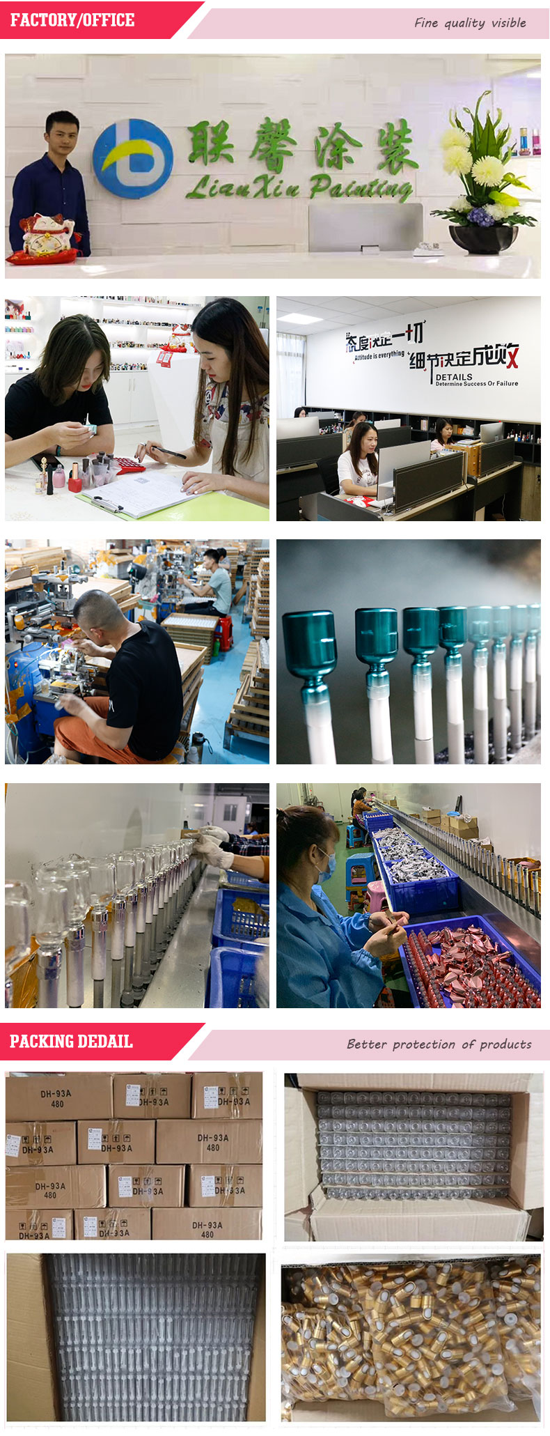 Hersteller neue stil wein diamant perle runde phantasie nagellack glasflasche mit kunststoff schraube kappe
