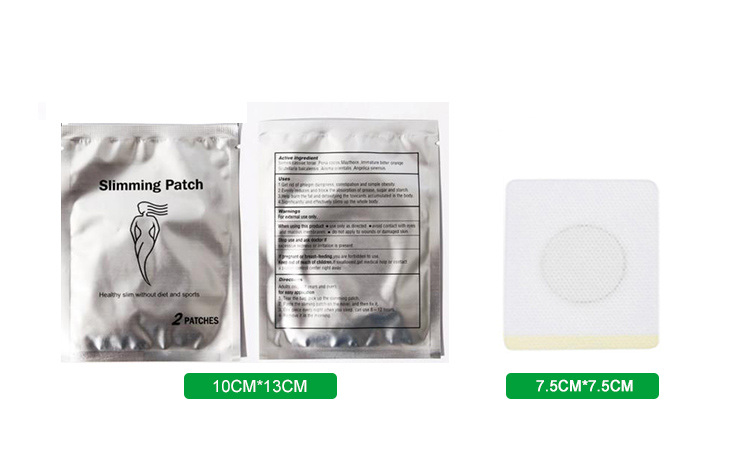 herbal ingredients no side-effect Magnet Slimming Patch