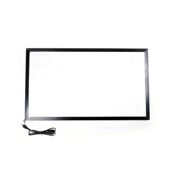 aluminum alloy 16 points 32 inch ir multi-touch infrared screen touch frame kit for interactive tv