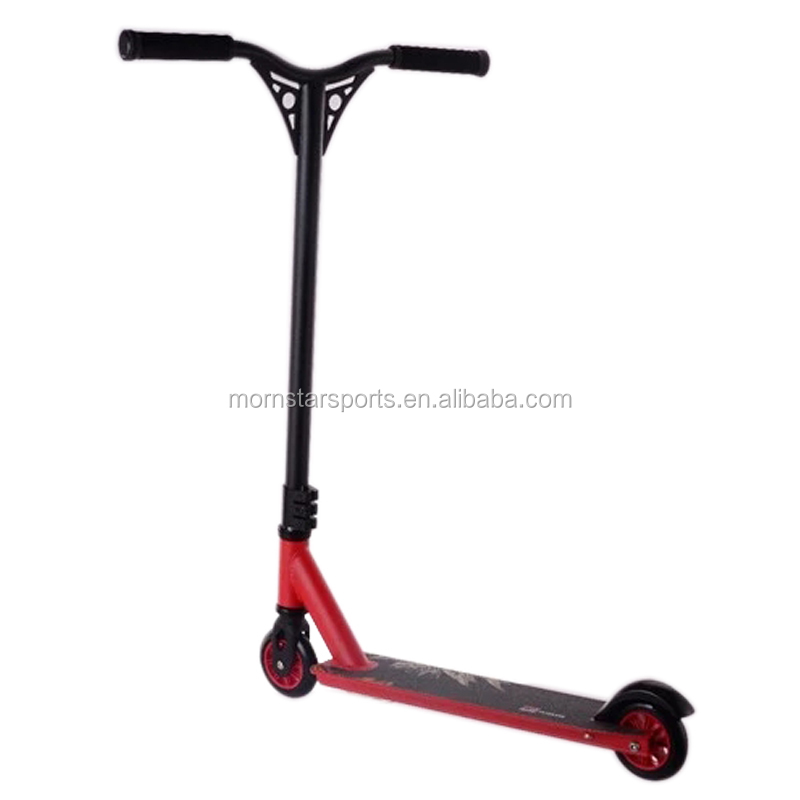 HIC locked system Cheap Freestyle Aluminum Stunt Scooter Adults Kick scooter For Sale