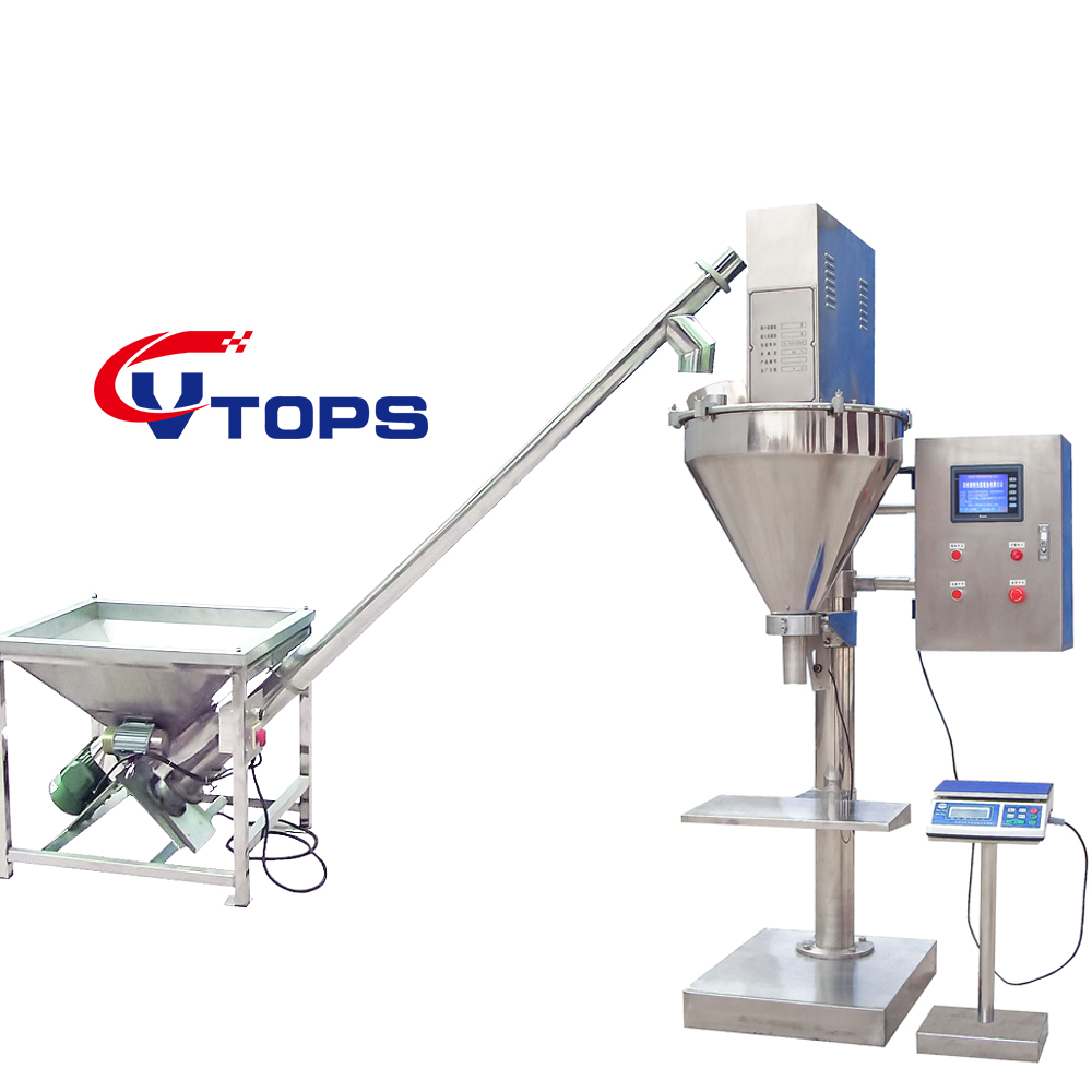 Semi Automatic Auger Powder Filling Machine with Touch Screen