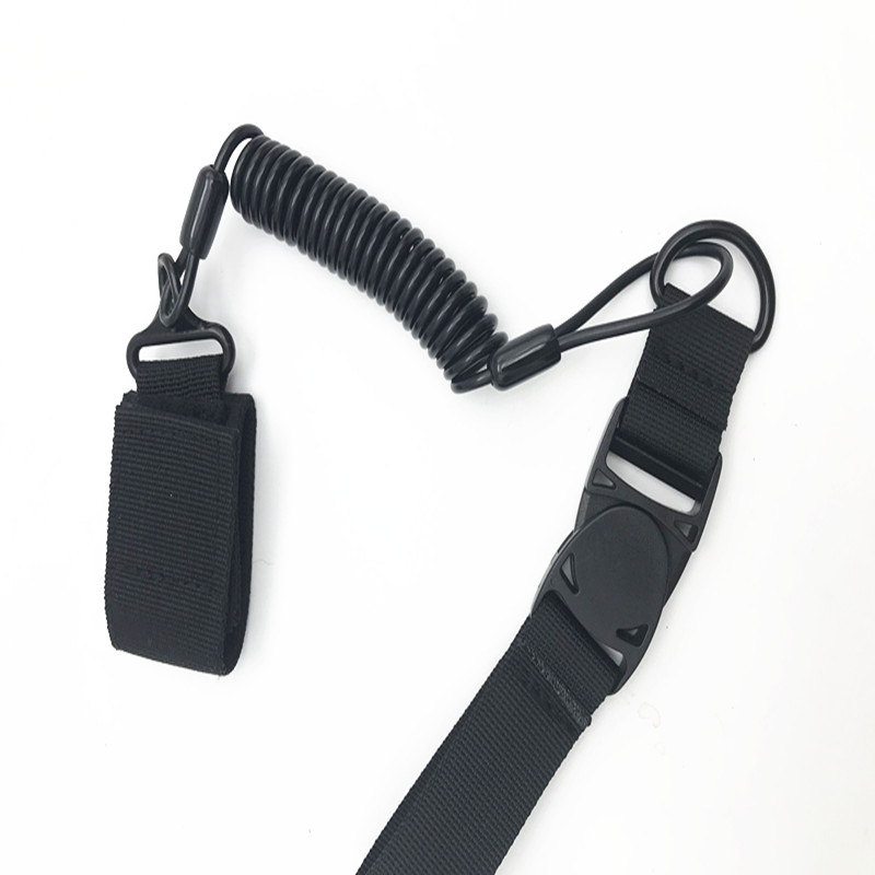 security steel safety police uniform rope military gun lanyard