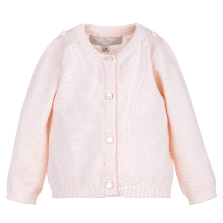 Kids 100% Mongolian Pure Cashmere Cardigan Sweater Pullover for Girls Baby Child