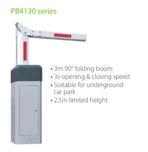 Uso piegante del portone della barriera del parcheggio dell'asta da 90 gradi per il parcheggio del sistema