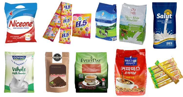 Wheat Flour Detergent Powder Pouch Packaging Machine