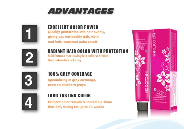 العلامات التجارية لون الشعر الإيطالي الدوائر المتكاملة مع أسعار المصنع