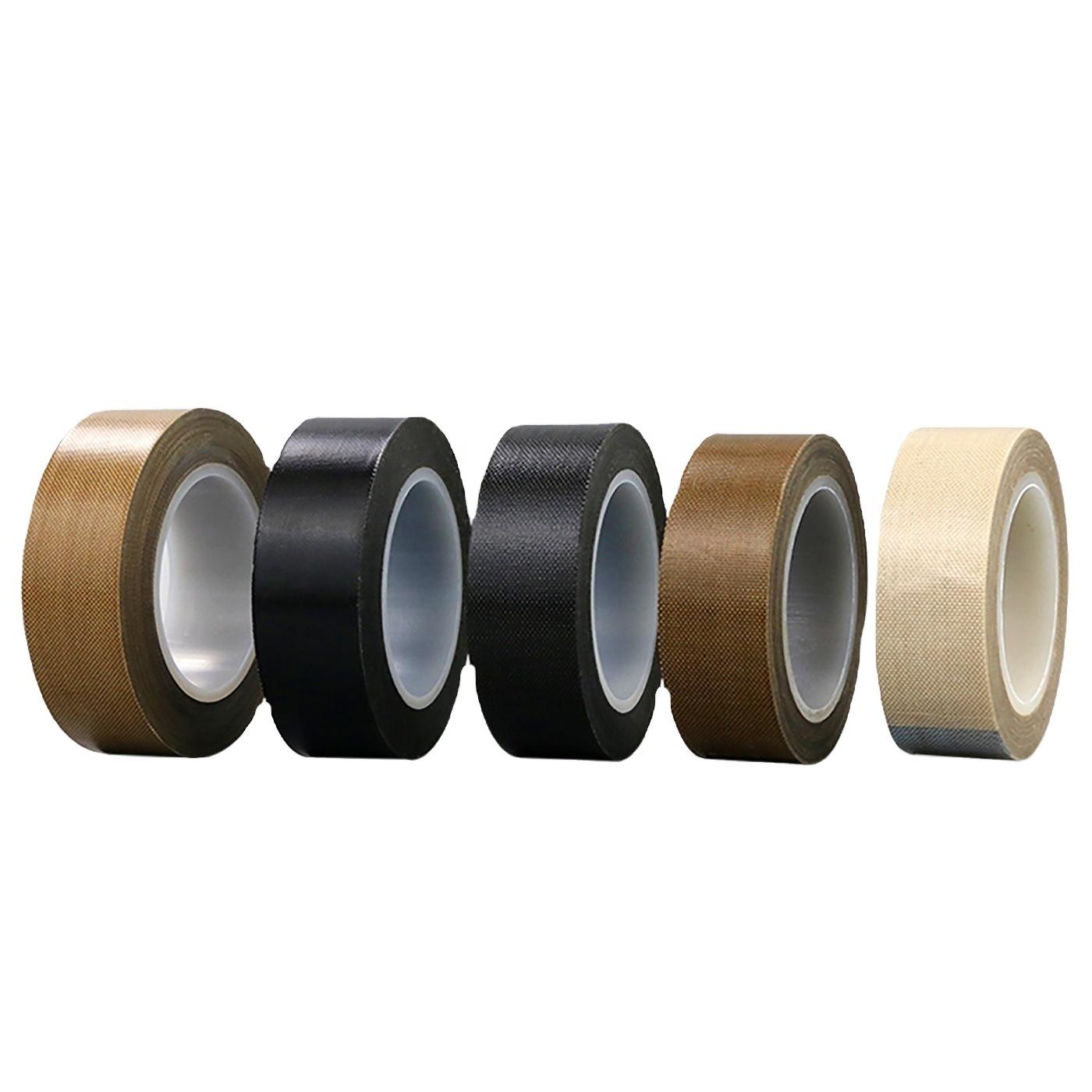 Sellado térmico, fabricación de bolsas, sellador al vacío antiadherente cinta adhesiva de PTFE de silicona de alta temperatura y resistencia al calor