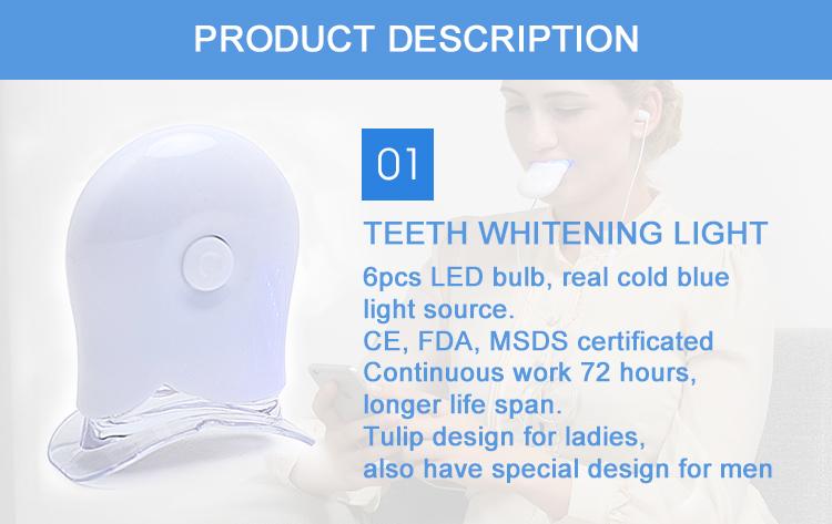 New Luxury Teeth Whitening Home Kit 35% CP Dental Tooth Bleaching Kit