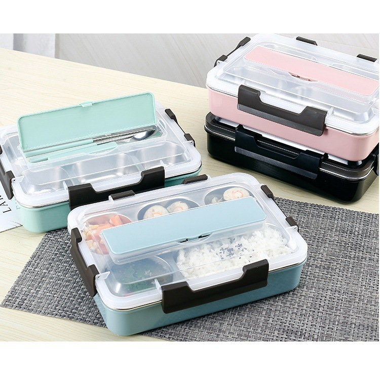 Eco Friendly One Layer Leak Proof Stainless Steel Bento Home Goods Lunch Boxes with 1-3L Wholesale Tiffin Circular
