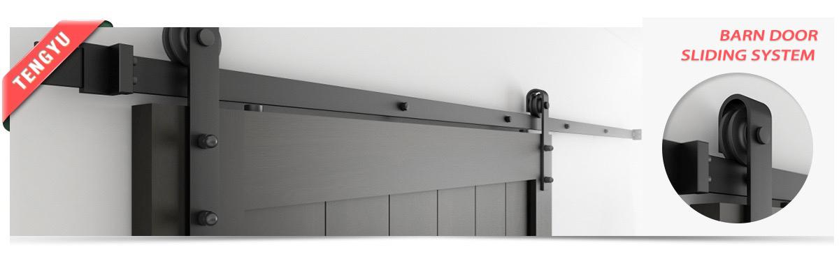 6 FT Holz Schiebetür Scheune Tür Hardware  Schiebeschiene Softclose kit Neu N0V0