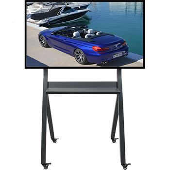 High quality modern design furniture mobile mount tv floor stand