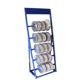 5 tier floor metal electric wire cable iron chain welding stick accessories display rack