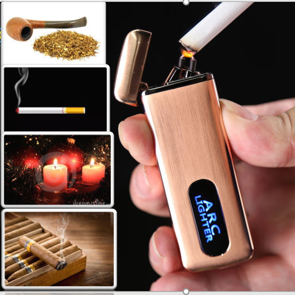 Dropshipping cigar touch lighter electric Gift cigrate smoke