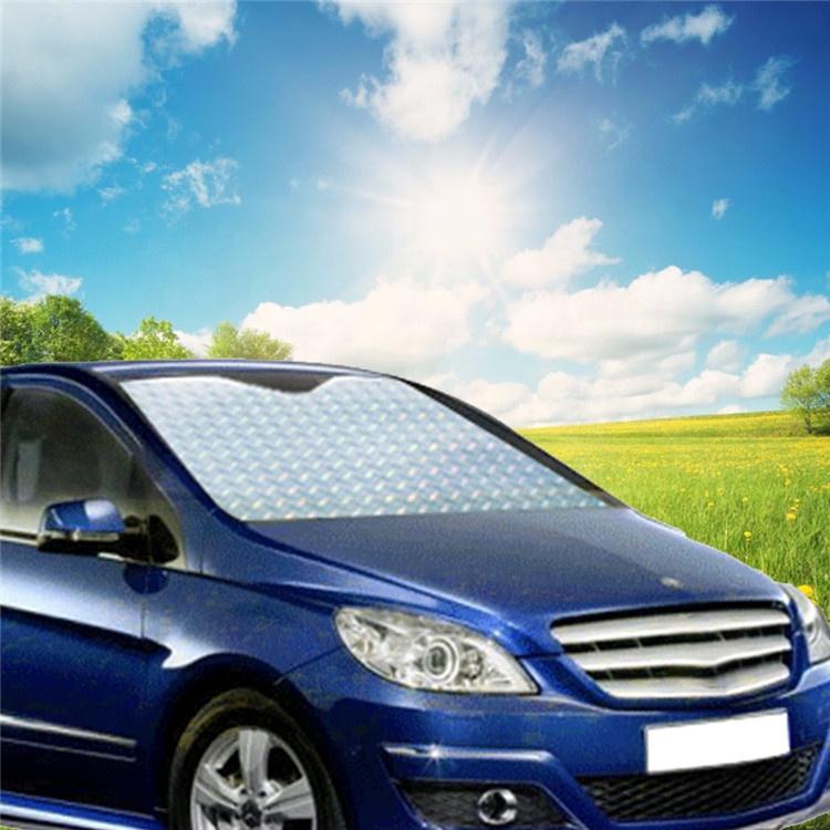 Wholesale Custom Car Window Sun Shade UV Protection Sunshade Film Visor Front Windshield Sun Shade Cover