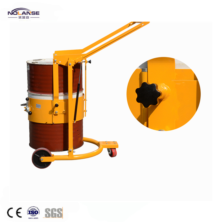 Professional High Quality Hydraulic Drum Transporters Hand Drum Cart