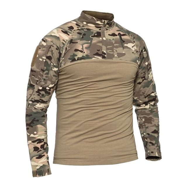 T-Shirt Mesh-Gewebe Herren Jungleshirt Outdoor Sportshirt schwarz