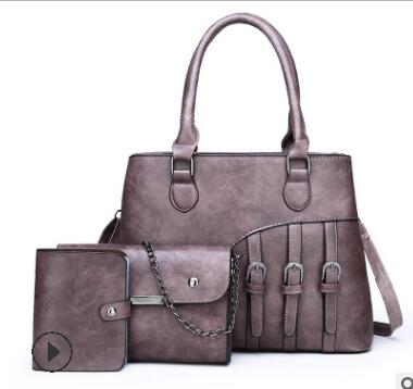 Винтажная дизайнерская сумка из натуральной кожи, женские сумки через плечо, роскошные сумки-тоут, женская сумка-мессенджер, большие сумки ...(Китай)
